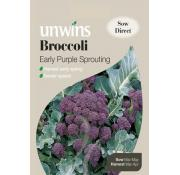 Unwins Broccoli (Sprouting) Early Purple Sprouting