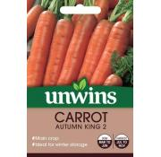 Unwins Carrot Autumn King 2