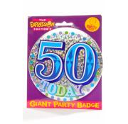 Giant Part Badge 50th - Blue