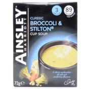 Ainsley Harriot Broccoli and Stilton Cup Soup