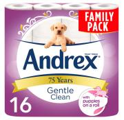 Andrex Gentle Clean Toilet Rolls