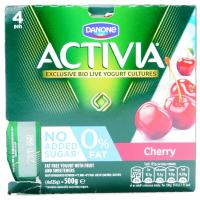 Activia 0% Cherry Bio Yogurt image
