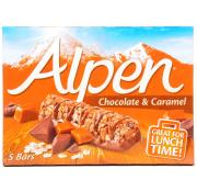 Alpen Caramel and Chocolate