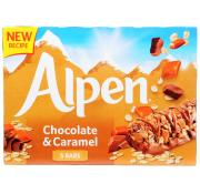 Alpen Chocolate and Caramel