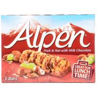 Alpen Fruit Nut and Chocolate Cereal Bars image