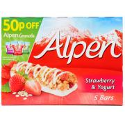 Alpen Strawberry and Yogurt Cereal Bars