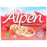 Alpen Strawberry and Yogurt Cereal Bars image