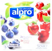 Alpro Blueberry And Cherry Soya