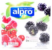 Alpro Soya Mixed Berry Yogurts