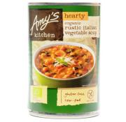 Amys Kitchen Hearty Organic Rustic Italian Vegetable Soup