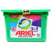 Ariel Capsules Colour HD Liquitabs 3 in 1