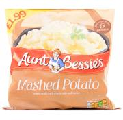 Aunt Bessie Mashed Potato