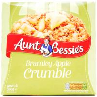 Aunt Bessies Bramley Apple Crumble image