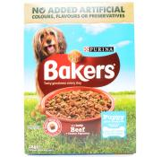 Bakers Complete Puppy Beef