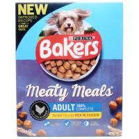 Bakers Adult Meaty Meals with Chicken image