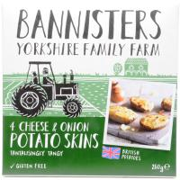 Bannisters Farm Cheese and Onion Potato Skins image