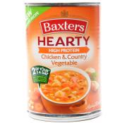 Baxters Hearty Soup Chicken and Country Vegetable