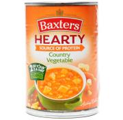 Baxters Hearty Soup Country Vegetable