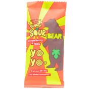Bear Super Sour Yoyo Strawberry and Apple