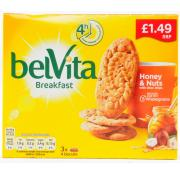 Belvita Honey and Nuts