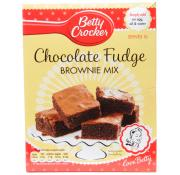 Betty Crockers Fudge Brownie Mix