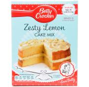 Betty Crocker Zesty Lemon Cake Mix