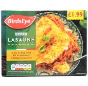 Birds Eye Beef Lasagne