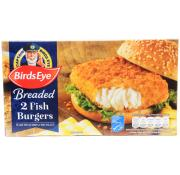 Birds Eye Breaded Fish Burgers