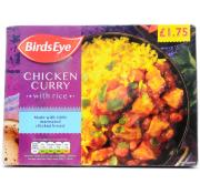 Birds Eye Chicken Curry and Rice