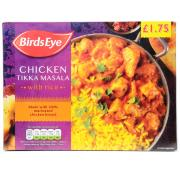Birds Eye Chicken Tikka Masala and Rice