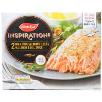 Birds Eye Inspirations Pink Salmon Fillets with Lemon and Dill Sauce image