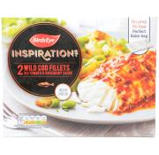 Birds Eye Inspirations Cod Fillets with Tomato and Rosemary Sauce