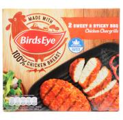 Birds Eye Sweet and Sticky BBQ Chicken Chargrills