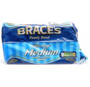 Braces Medium White Sliced