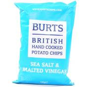 Burts Sea Salt and Malted Vinegar Chips