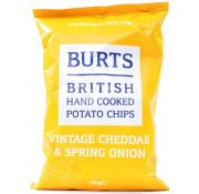 Burts Vintage Cheddar and Spring Onion Chips