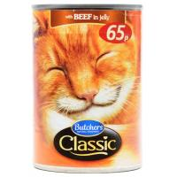 Butchers Classic Cat Food Beef in Jelly image