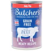 Butchers Grain Free Beef and Liver