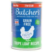 Butchers Grain Free Chicken and Liver Tripe Loaf Recipe