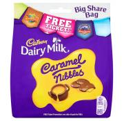 Cadbury Caramel Nibbles Large Pouch