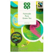 Co Op Fairtrade Pure Green Tea Teabags