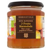 Co Op Irresistible 3 Fruit Marmalade