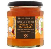 Co Op Irresistible Seville Orange Medium Cut Marmalade