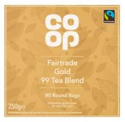 Co Op Fairtrade Gold 99 Teabags