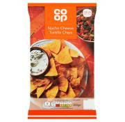 Co Op Nacho Cheese Tortillas Chips