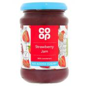 Co Op No Added Sugar Strawberry Jam