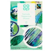 Co Op Fairtrade Peppermint Teabags