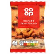Co Op Roasted and Salted Almonds