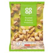 Co Op Roasted and Salted Pistachios
