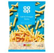 Co Op Salt and Vinegar Sticks